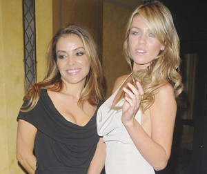 Ellen Rives with Abby Clancy