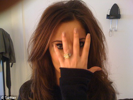 Cheryl with ring!