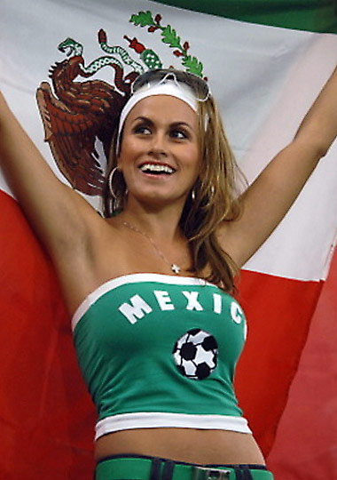 World Cup 2010 Sexy Soccer Fans Part One – South America & USA