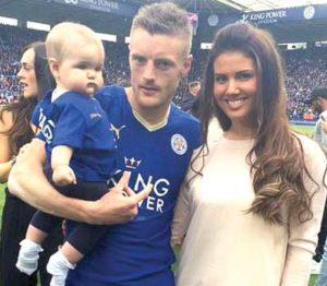 Becky and Jamie Vardy - Justwagsnews.com